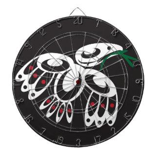 White Raven Dartboard