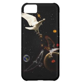 White Raven Fantasy Wildlife iPhone Case iPhone 5C Cover