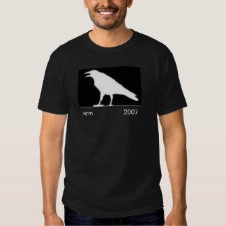 white raven-iqrm 2007 tee shirt