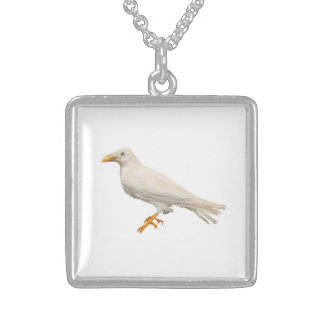 White Raven Neckwear Sterling Silver Necklace