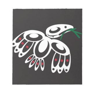 White Raven Scratch Pads