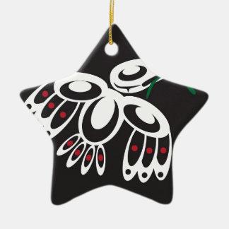White Raven Ornaments