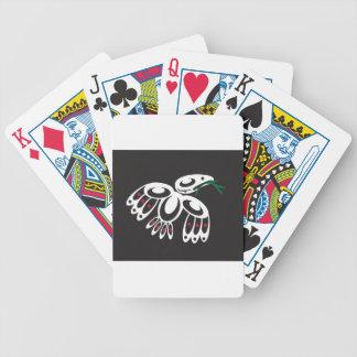 White Raven Playing Cards