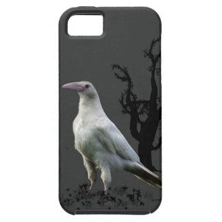 White Raven, Wild Bird, Fantasy, Goth iPhone SE/5/5s Case