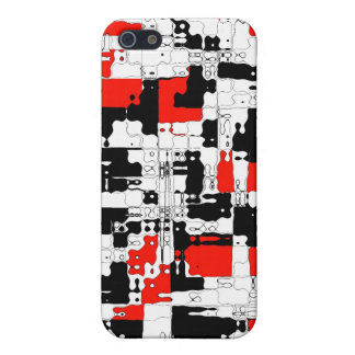 White Red Black Cover For iPhone 5