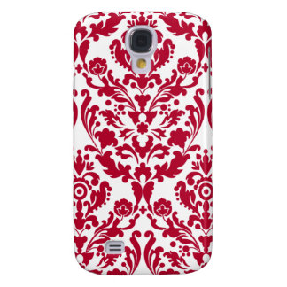 White Red Damask iPhone 3G/3GS Case