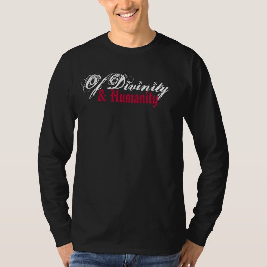 White/Red Graphic Long Sleeve T-Shirt