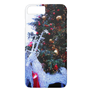 White Reindeers iPhone 8 Plus/7 Plus Case