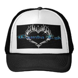 White Rhinestone Heart Baseball Tr... - Customized Trucker Hat
