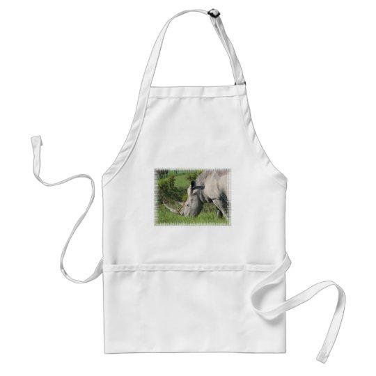 White Rhino Apron