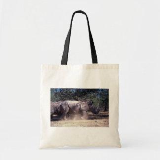 White Rhino Canvas Bags