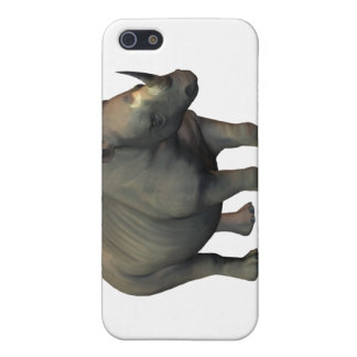 White Rhino iPhone Case Cover For iPhone 5