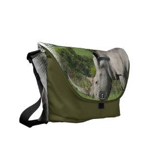White Rhino Messenger Bag