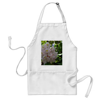 White Rhodendrons Adult Apron