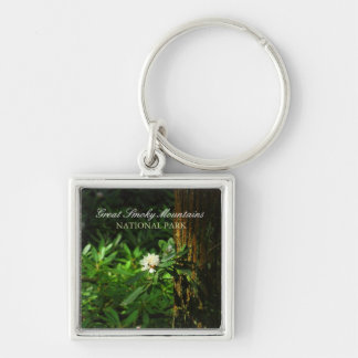 White Rhododendron - Great Smoky Mountains Keychains
