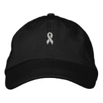 White Ribbon Cap by SRF