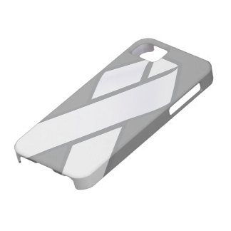 White Ribbon iphone case iPhone 5 Cover