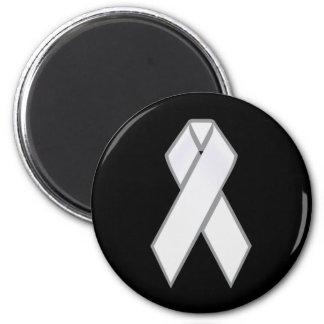 White Ribbon Magnet