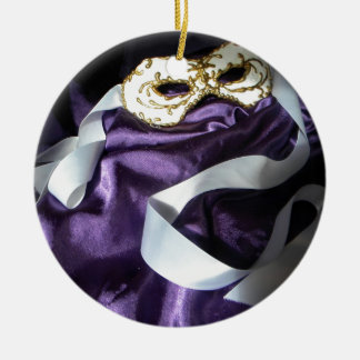 White Ribbon Ornament