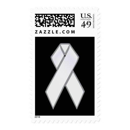 White Ribbon Postage