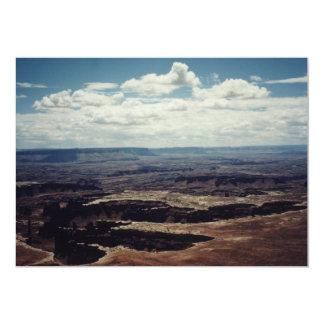 White Rim, Canyonlands, Utah Card