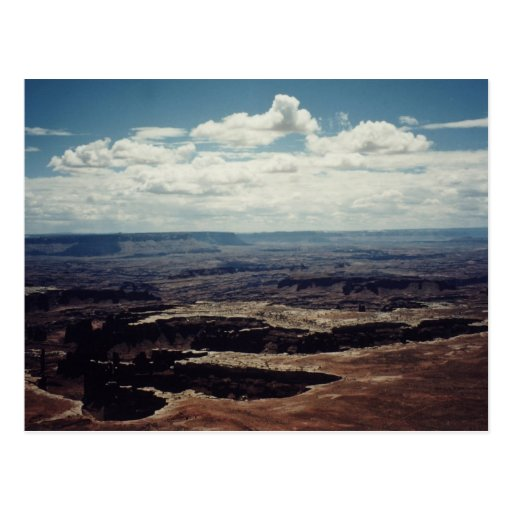 White Rim, Canyonlands, Utah Post Cards