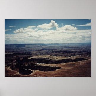 White Rim, Grand View Point Poster