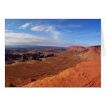 White Rim Overlook at Canyonlands National Park Card