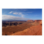 White Rim Overlook at Canyonlands National Park Poster