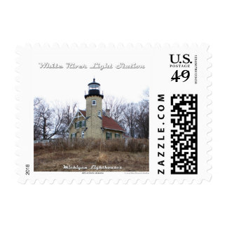 White River Light Station: 1st Class Postage