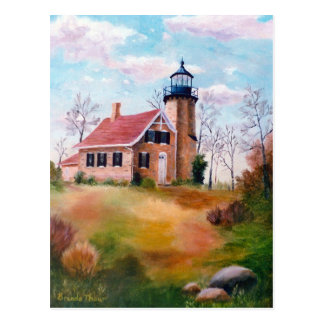White River Lighthouse Blank Card
