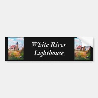 White River Lighthouse Bumper Sticker