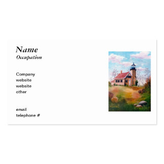 White River Lighthouse Business Cards