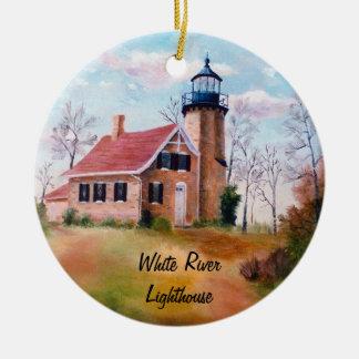 White River Lighthouse Ornament