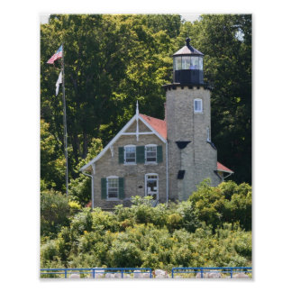 White River Lighthouse Poster