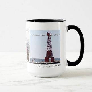 White River _ Little Sable _ Pentwater Pier Mug