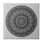 White River Mandala Ceramic Tiles