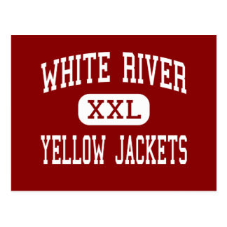 White River - Yellow Jackets - Middle - Buckley Postcard