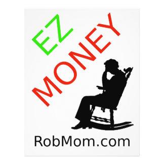 White Rob Mom Flier Flyer