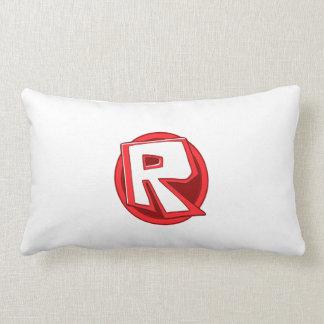 White ROBLOX Logo Pillow