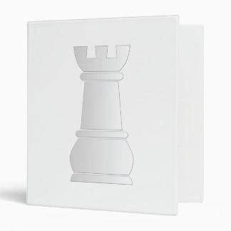 White rock chess piece 3 ring binder