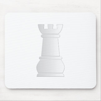 White rock chess piece mouse pad