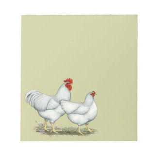 White Rock Chickens Notepad