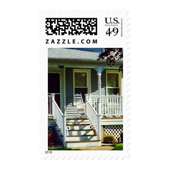White Rocking Chairs Postage