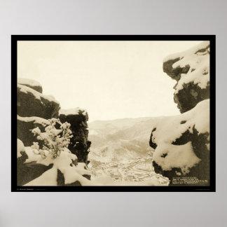 White Rocks Deadwood SD 1887 Posters