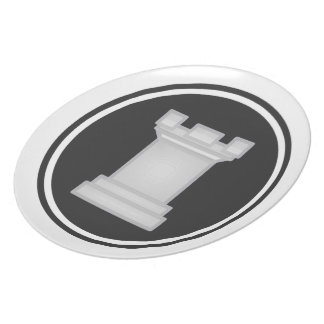 White Rook Chess Plate