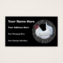 White Rooster Business Card