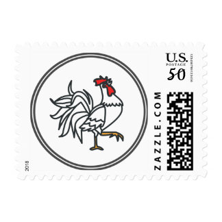 White Rooster - Fish Prawn Crab Collection Postage