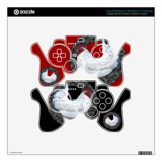 White Rooster PS3 Controller Skins