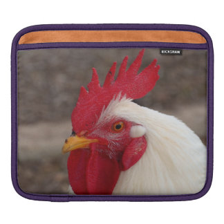 White Rooster Sleeve For iPads